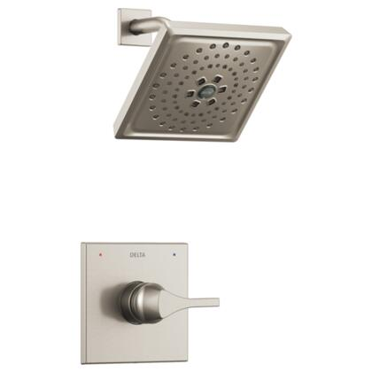 Zura T14274-SS Delta Zura: Monitor 14 Series H2Okinetic Shower Trim in Stainless