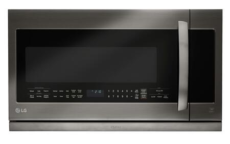 """LG LMHM2237 30"""" Over-The-Range Microwave Oven with 2.2 cu. ft. Capacity, ExtendaVent 2.0 Ventilation System, EasyClean Interior and SmoothTouch Controls, in"""