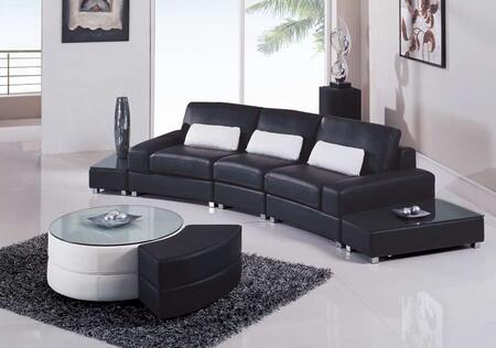 Global Furniture USA F282R2VBLSEC  Sofa