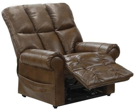 Catnapper 4898122309302309 Stallworth Series Bonded Leather Metal Frame  Recliners