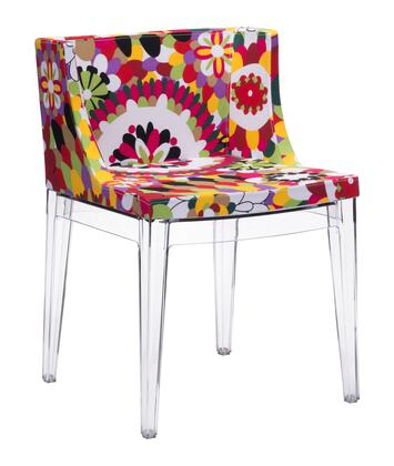 Zuo 102113 Pizzaro Series Modern Fabric Polyblend Frame Dining Room Chair