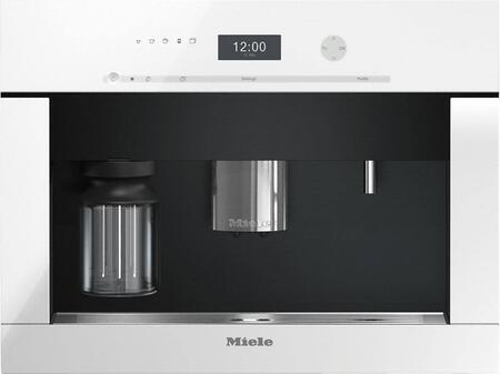 "Miele CVA640 24"" Built-In Coffee System with DirectSensor Controls, OneTouch for Two, EasyClick Milk System, Automatic Rinsing, LED Lights, Removable Brew Unit and up to 10 User Profiles in"