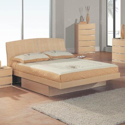 Global Furniture USA AriaQueenBed Aria Contemporary Queen Size Bed