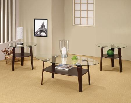 "Coaster 701560 26"" Contemporary Living Room Table Set"
