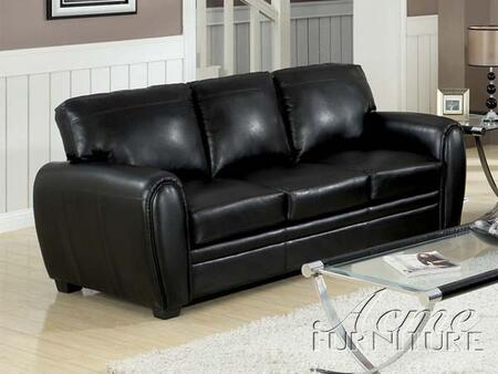 Acme Furniture 15245 Amber Series  Bonded Leather Sofa