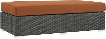 Modway EEI1863CHCTUS Rectangular Shape Patio Ottoman