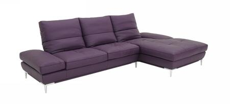 VIG Furniture VGKK1307FL  Sofa and Chaise Leather Sofa