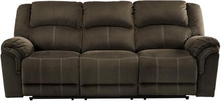 Milo Italia MI569332PCOFF Madyson Series Reclining Fabric Sofa