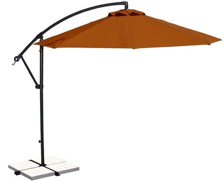 Image of Open Canopy with Terra Cotta Olefin Colored Fabric