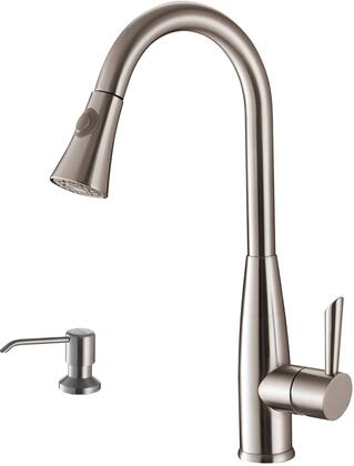 Faucet with Soap Dispener