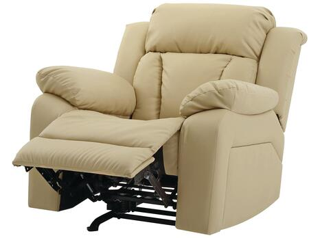 Glory Furniture G689RC G680 Series Faux Leather Metal Frame  Recliners