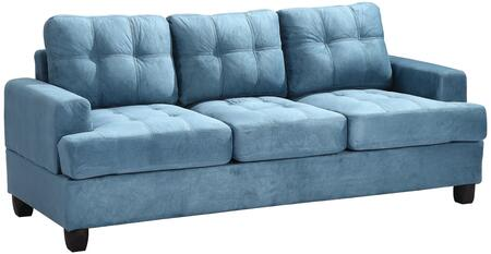 Glory Furniture G518AS  Stationary Suede Sofa