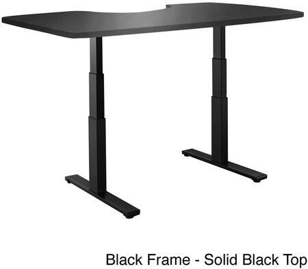 Vifah A55A7 ActiveDesk Series Computer  Wood Desk
