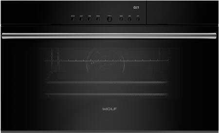 """Wolf CSO30 30"""" M Series X Convection Steam Oven with 1.8 cu. ft. Capacity, 10 Cooking Modes, Gourmet Mode, Delayed Start, Keep Warm Mode, Temperature Probe, and Convection Humid Mode, in"""