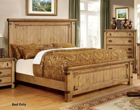 Furniture of America CM7449CKBED Pioneer Series  California King Size Bed