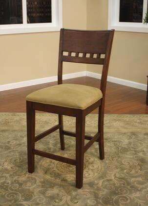 American Heritage 700203SD Andria Series Contemporary Fabric Wood Frame Dining Room Chair