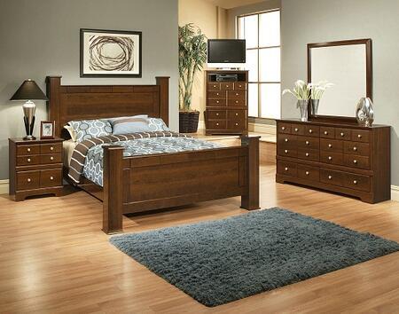 Sandberg 338G Kendra Queen Bedroom Sets