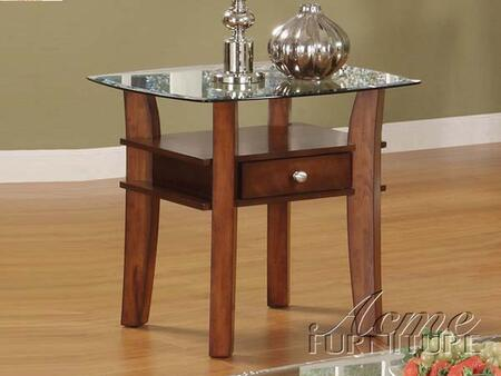 Acme Furniture 16232 Cherry Series Contemporary  End Table