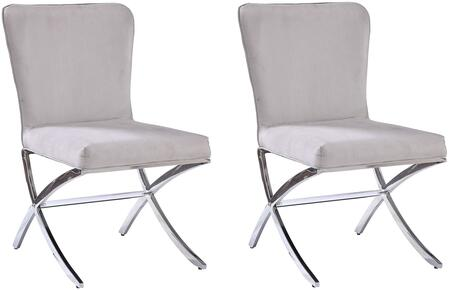 Zoom In Acme Furniture Daire Side Chairs