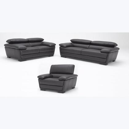 VIG Furniture VGKK987E Modern Leather Living Room Set