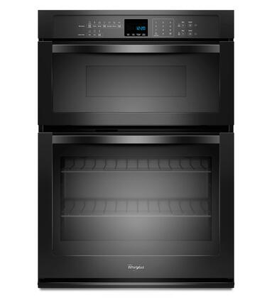Whirlpool WOC54EC0AX 5.0 cu. ft. Double Electric Wall Oven with SelfClean, 1.4 cu. ft. Microwave, FIT System, AccuBake Temperature Management System, Hidden Bake Element and Easy-View Extra-Large Oven Window in