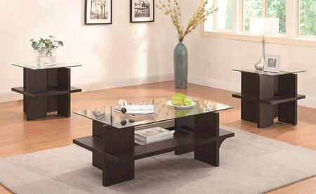 Coaster 700785 Contemporary Living Room Table Set