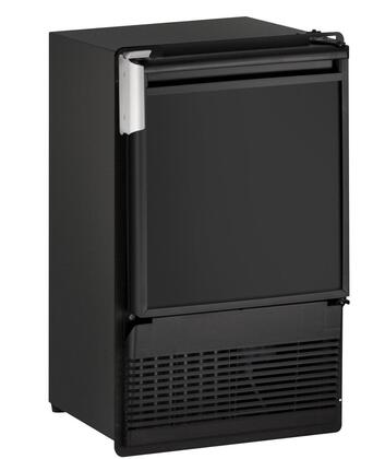 U-Line ULNBI95FCB20A Marine Series Freestanding Ice Maker with 23 lbs. Daily Ice Production, 12 lbs. Ice Storage, in Black