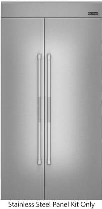 """Jenn-Air JPK42SNXET Stainless Steel Panel Kit for 42"""" Side by Side Refrigerator"""