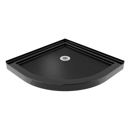 QUARTER ROUND BASE LP Black Finish