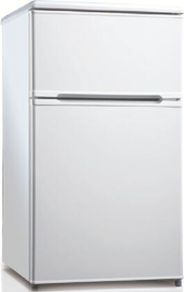 Equator RF114F31W  Refrigerator with 3.1 cu. ft. Capacity in White