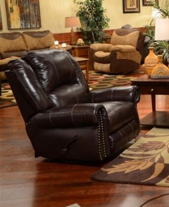 Catnapper 45005127404307404 Livingston Series Traditional Leather Metal Frame  Recliners