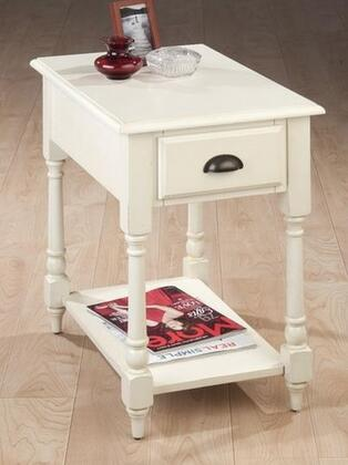 Jofran 10297 Transitional Round 1 Drawers End Table