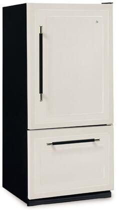 Heartland 306517LHD  Bottom Freezer Refrigerator with 18.5 cu. ft. Capacity in Gun Metal