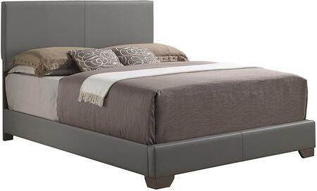 Glory Furniture G1805KBUP  King Size Panel Bed