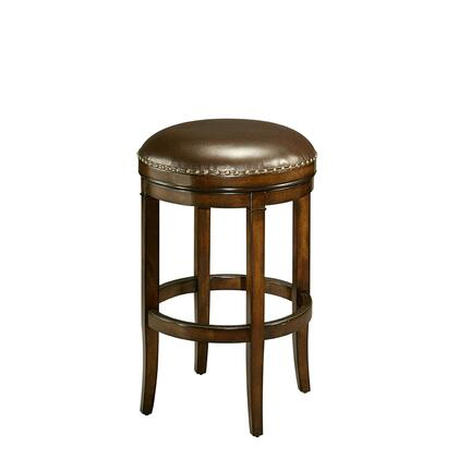 Pastel Furniture QLNB215 Naples Bay Bar Height Backless Barstool in Brown
