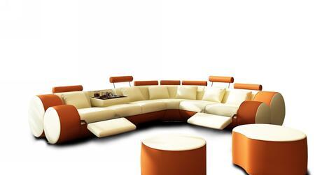 3087cut beige orange