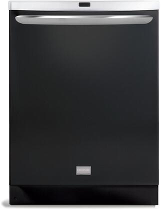 Frigidaire FGHD2471KB Gallery Premier Series Built-In Fully Integrated Dishwasher with in Black