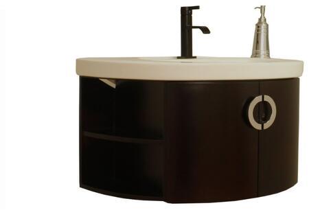 """Bellaterra Home 804338X 34"""" Single Vanity - Wood"""