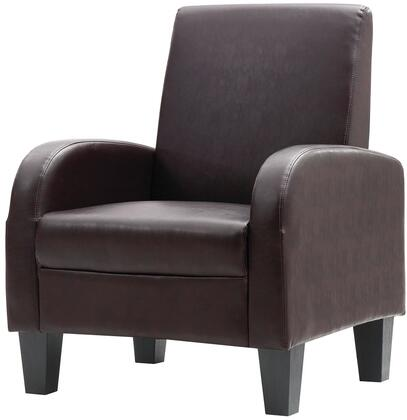 Glory Furniture G106C Newbury Series Armchair Faux Leather Accent Chair