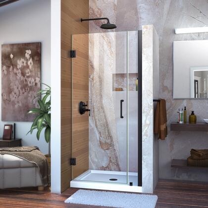 Unidoor Shower Door with Base 12 28D 6P 09 72 WM 11 16