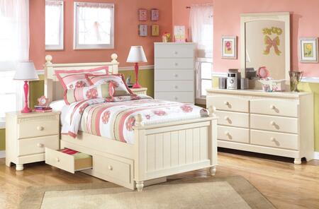 Milo Italia BR303TPSBUSDMN Burton Twin Bedroom Sets