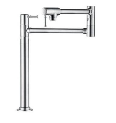 Hansgrohe 4219 Double Handle Deck Mounted Pot Filler Faucet from the Talis C Collection: