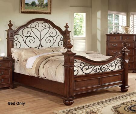 Furniture of America CM7811QBED Landaluce Series  Queen Size Bed