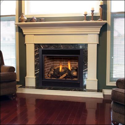 Picture of 300DVBHPSC7 33 R  T Convertible Direct Vent Fireplace with Signature Command Control  Propane
