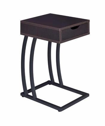 Coaster 900578 Accent Tables Series Transitional Wood Rectangular 1 Drawers End Table