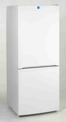 Avanti FFBM922W  Bottom Freezer Refrigerator with 9.2 cu. ft. Total Capacity 2.4 cu. ft. Freezer Capacity 3 Glass Shelves