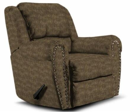 Lane Furniture 21495481230 Summerlin Series Transitional Fabric Wood Frame  Recliners