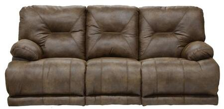 Catnapper 643845122829302829 Voyager Series  Faux Leather Sofa