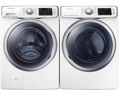 Samsung Appliance WF45H6300AWPAIR1 6300 Washer and Dryer Com