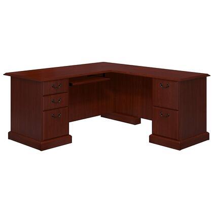 Picture of WC65570-03K Bennington Collection L-Desk in Harvest